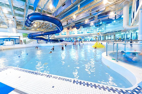 westside recreation centre swimming pool wave pool