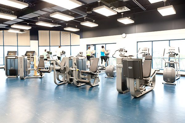 westside recreation centre cardio workout facilities