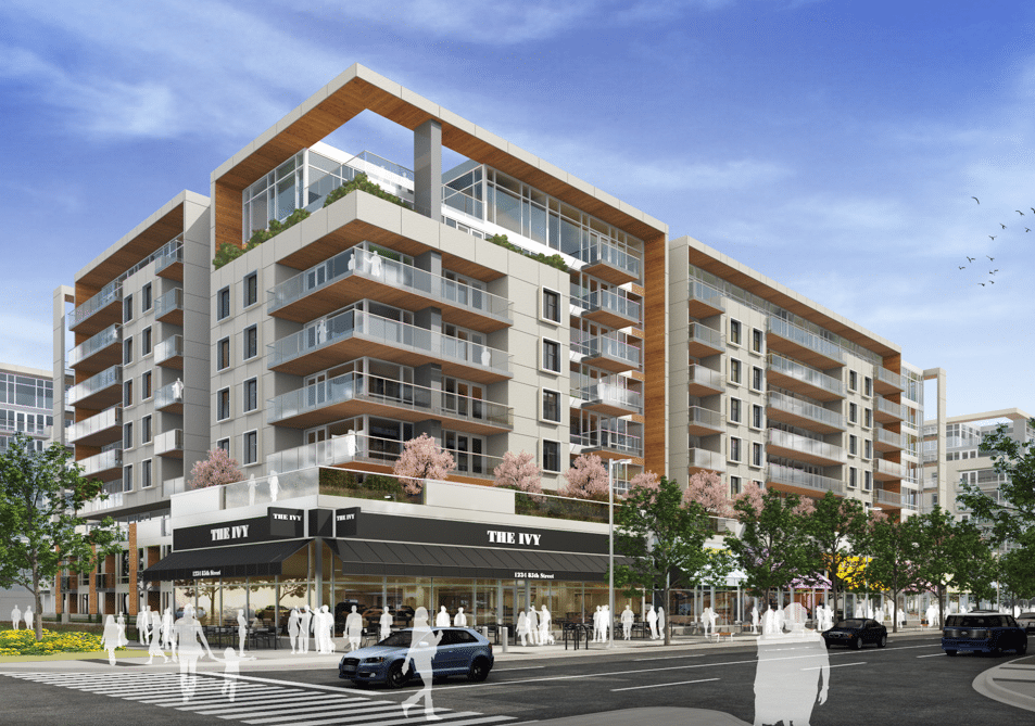 gateway west district calgary exterior rendering
